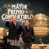 Niños de San Ildefonso cantando la Lotería de Navidad 2014