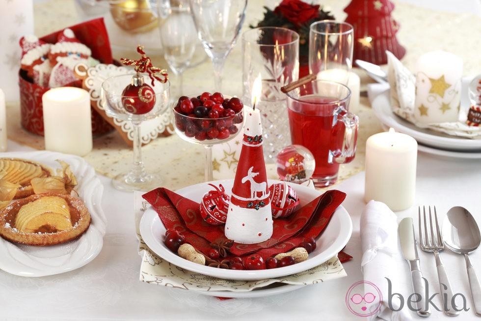 Decora tu mesa de navidad paso a paso fotos de navidad - Mesas para navidad ...