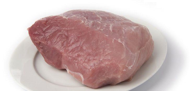 Carrillada de cerdo lista para empezar a cocinar