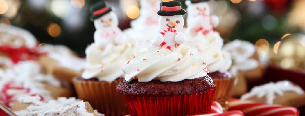 Postres de Navidad: Cupcakes Red Velvet