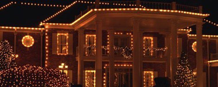 Una buena iluminación exterior para esta Navidad