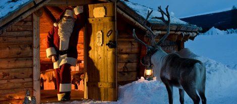 Papa Noel vive en Laponia
