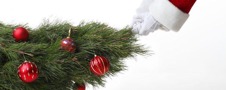 Grinch robando la navidad