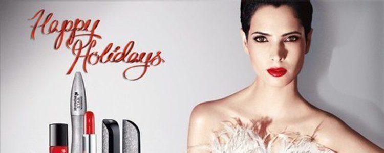 Cartel promocional de 'Happy Holidays 2013' de Lancôme