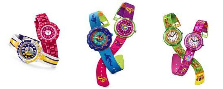 Relojes de la colección de Navidad de Flik Flak