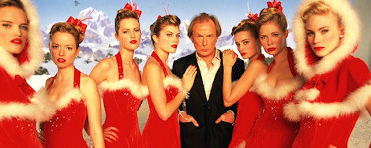 Bill Nighy, caracterizado de Billy Mack canta 'Christmas is All Around'