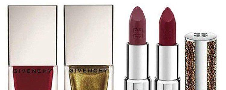 Barras de labios y esmaltes de la colección 'Ondulation Precieuses' de Givenchy