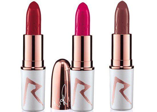 Barras de labios de la colección Holidays 2013 de Riri para MAC