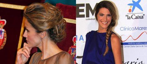 Letizia Ortiz y Laura Sánchez, dos ejemplos de recogido para Nochevieja
