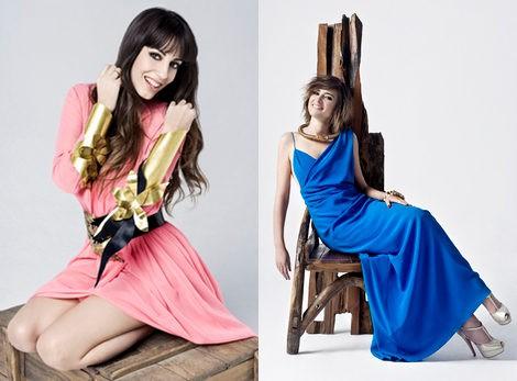 Almudena Cid y Sandra Barneda felicitan la Navidad 2012 con Maybelline NY