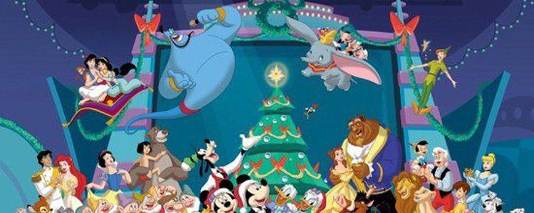 Mickey y sus amigos celebran la Navidad
