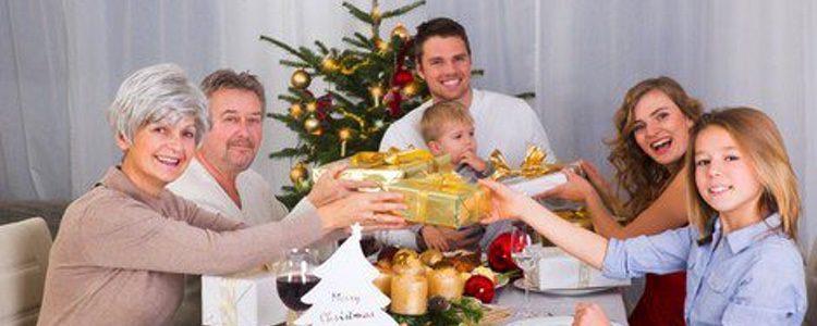 Las fiestas navideñas suelen celebrarse con la familia