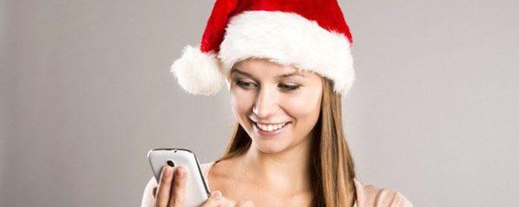 Móvil chica Navidad