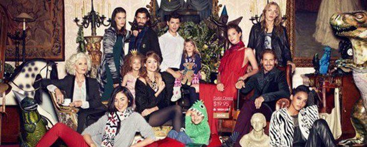 Imagen de la campaña de Navidad 2013 de H&M