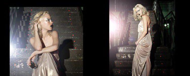 Imagen campaña Bershka Crystallized para la Navidad