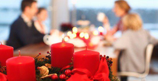 La mesa es una de las protagonistas de la decoración navideña