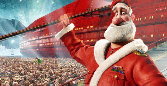 Fotograma de 'Arthur Christmas: Operación Regalo' (2011)