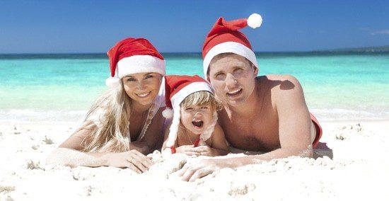 La Navidad se celebra de una forma más exótica en el hemisferio Sur