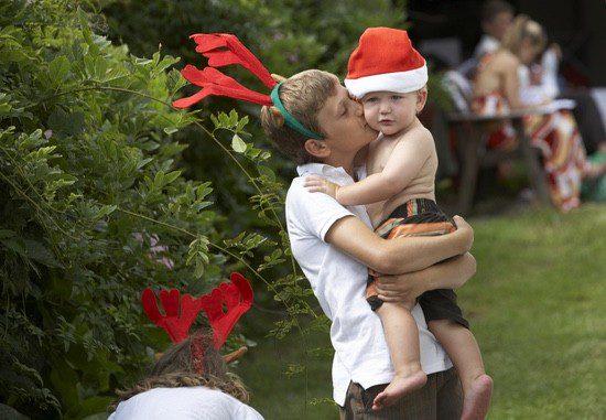 Las familias argentinas pueden celebrar las fiestas navideñas en el jardín