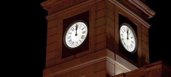 Las doce campanadas es el momento más esperado la Nochevieja