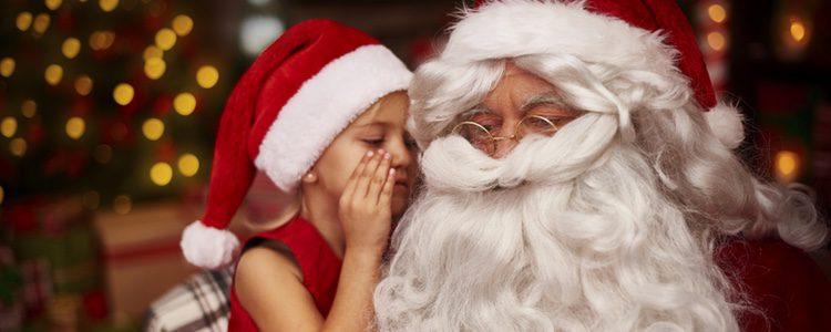 La primera vez que los niños conozcan a Papá Noel o los Reyes Magos será un recuerdo excepcional