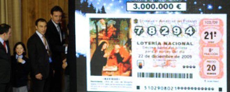 Gordo de la Lotería de Navidad