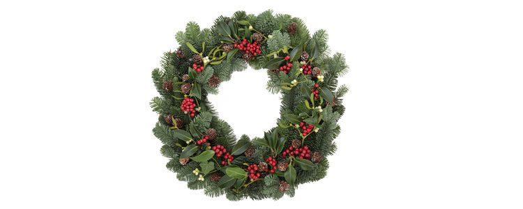 El acebo es un elemento decorativo característico navideño
