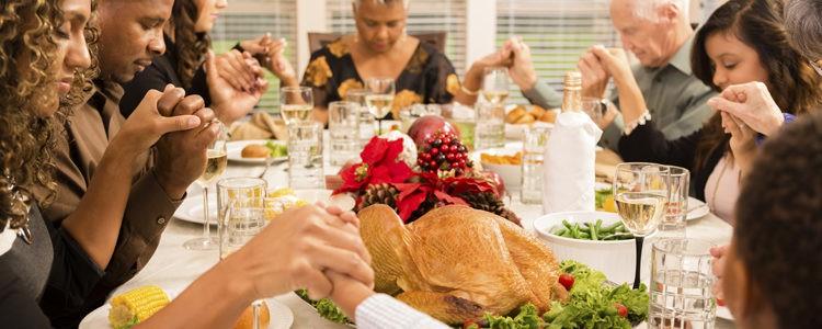 Es la festividad con la que dar gracias junto a tus seres queridos
