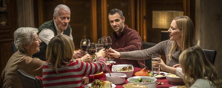 Acción de Gracias es el día más familiar del año en EE.UU.