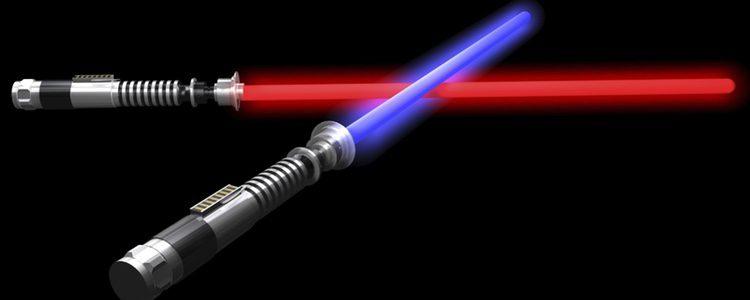 Las espadas láser son un símbolo representativo de 'Star Wars', colócalas en tu árbol