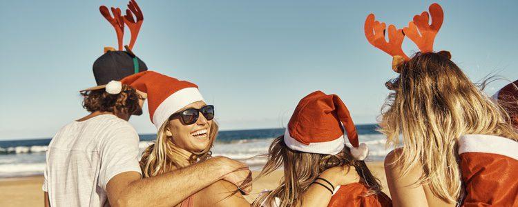 Si viajas a California o a Florida podrás celebrar la Navidad en la playa