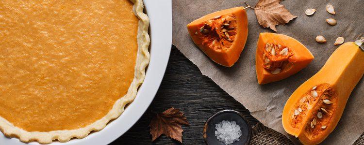 El pastel de calabaza es perfecto para acabar el menú del día de Acción de Gracias