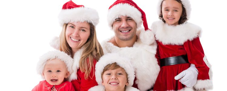 El disfraz de Papá Noel es uno de los más típicos pero muy divertido para los niños