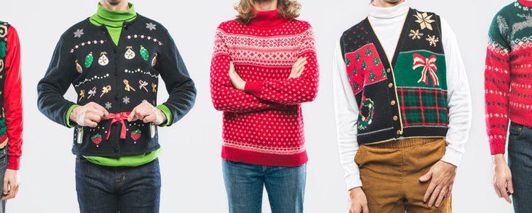Los jerséis navideños están disponibles en muchas tiendas