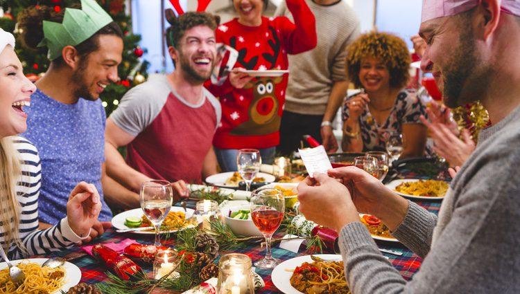 Puedes disfrutar de los productos de la cesta con tu familia