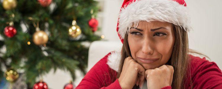 Puedes sentirte triste en Navidad