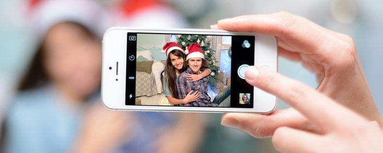 Hacerse una foto con el smartphone es algo instintivo