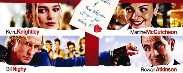 'Love Actually' narra la historia de amor de ocho parejas diferentes durante las navidades