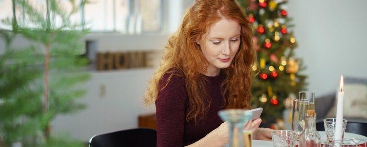 El móvil es un complemento más en nuestras cenas de Navidad