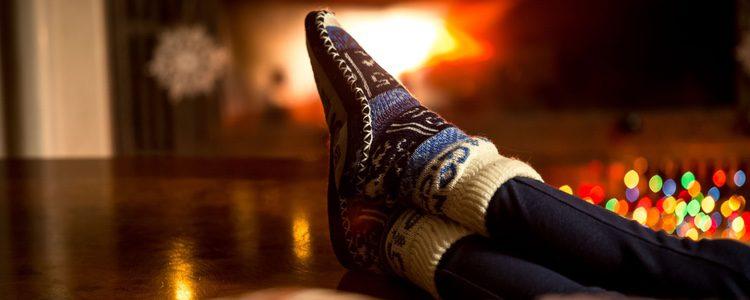 Un regalo muy navideño son las zapatilllas de estar por casa