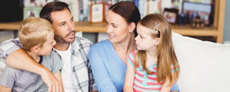 Hablar con los niños para hacerles comprender la situación