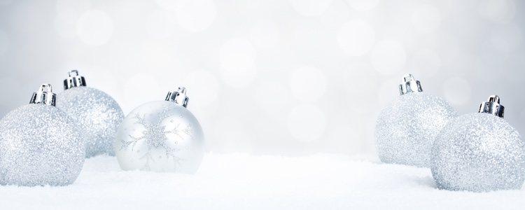 En los últimos años el color blanco se ha adueñado de los adornos navideños
