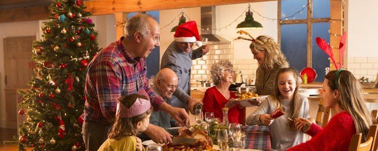 Las cenas familiares serán un poco diferentes ahora que las compartirás con tu pareja