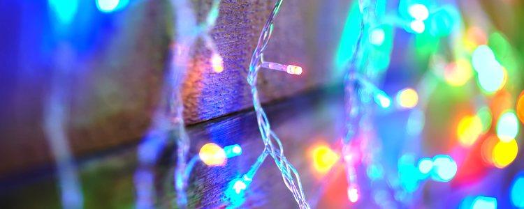 Las luces son uno de los elementos más versátiles de la Navidad