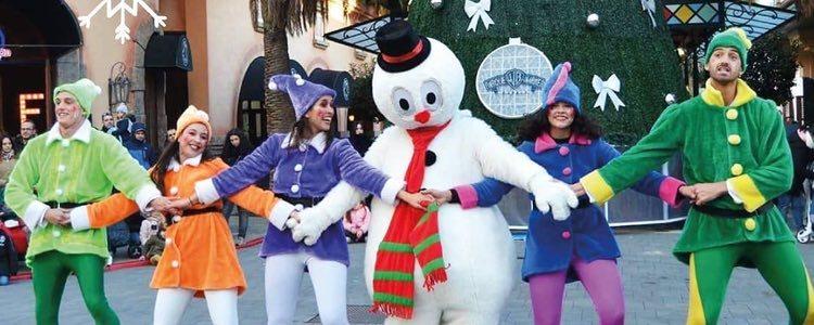 En el Parque Warner de Madrid se preparan muchos espectáculos navideños