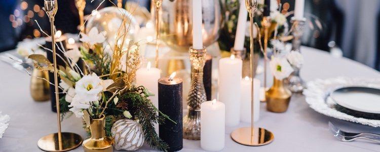 La decoración puede ser de temática navideña, pero hay muchas otras alternativas igual de válidas
