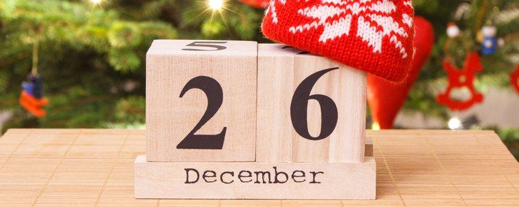 El día de San Esteban se celebra el 26 de diciembre
