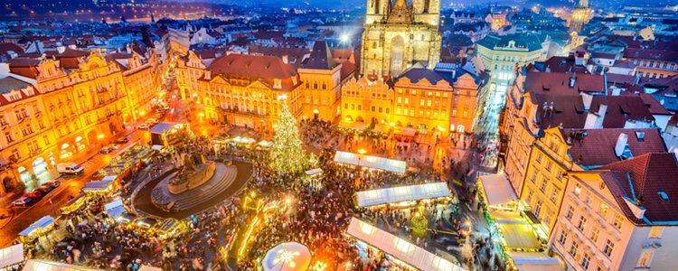 En República Checa es típico ir cantando villancicos el día de San Esteban
