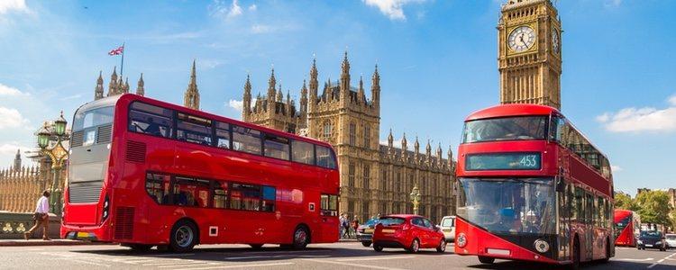 Londres es una ciudad que recibe multitud de turistas en Navidad