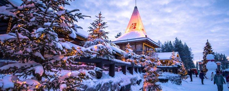 Rovaniemi es la ciudad natal del famoso Santa Claus